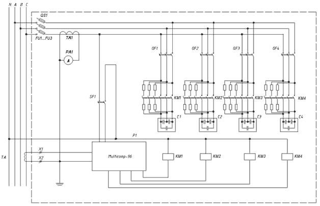 конденсаторной установки