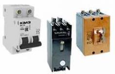Автоматические выключатели «КЭАЗ» на токи до 160А