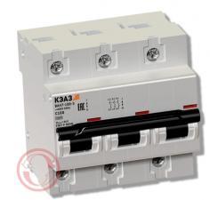 Автоматические выключатели ВА 47-100 (КЭАЗ)