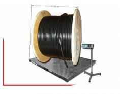 Вес и размеры кабельных барабанов
