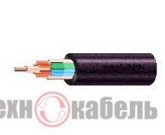 Медный силовой кабель КВВГнг5х1, негорючий