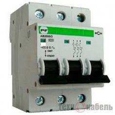 Модульные автоматические выключатели АВ2000 (Standart)