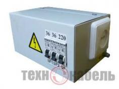 Ящик с понижающим трансформатором ЯТП-0,25-220/24-2-IP31-УХЛ3
