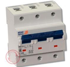 ВМ125 выключатель автоматический модульный OptiDin