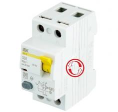 Дифференциальный выключатель ВД1-63 (УЗО тип АС)